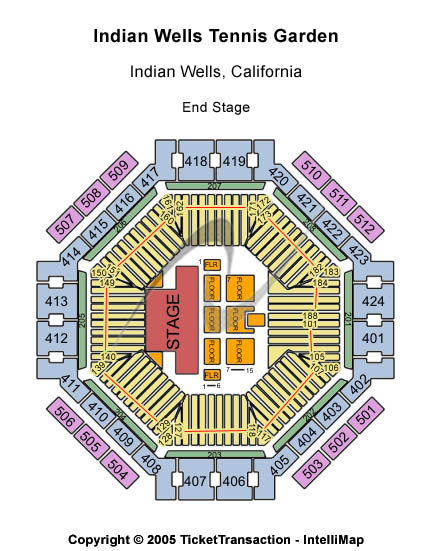 BNP Paribas Open: Semifinals & Doubles Final Tickets 2014-03-15  Indian Wells, CA, Indian Wells Tennis Garden