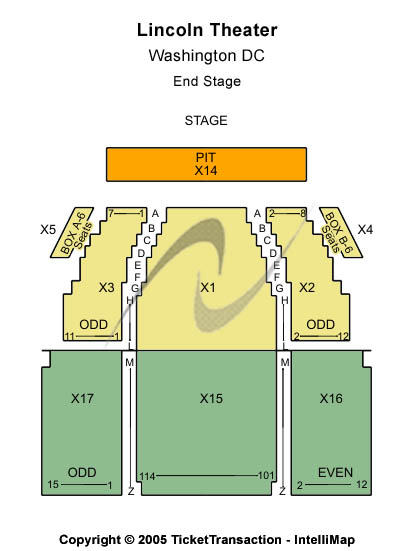 Lincoln Theatre Dc Tickets