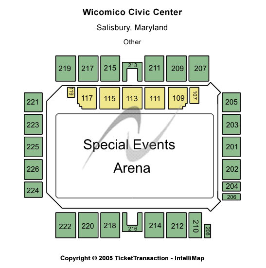 Justin Moore Wicomico Civic Center Seating Chart