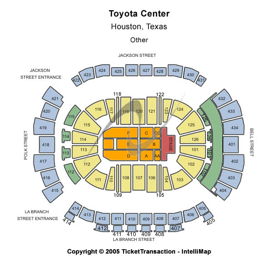 Toyota Center - TX Tickets
