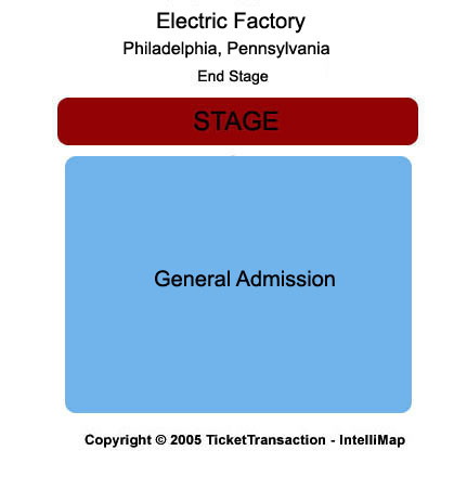 Electric Factory Seating Chart