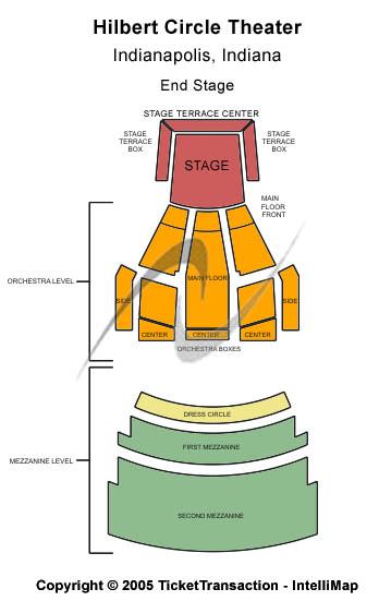 Amos Lee Hilbert Circle Theatre Seating Chart