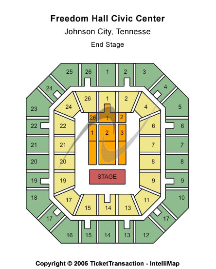 Freedom Hall Civic Center - TN Tickets