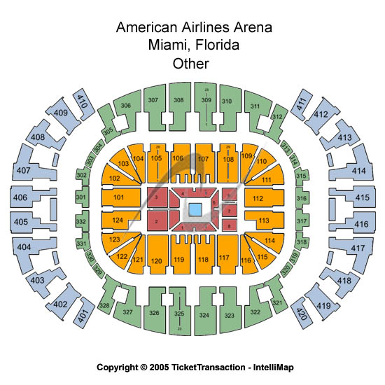 American Airlines Arena Tickets