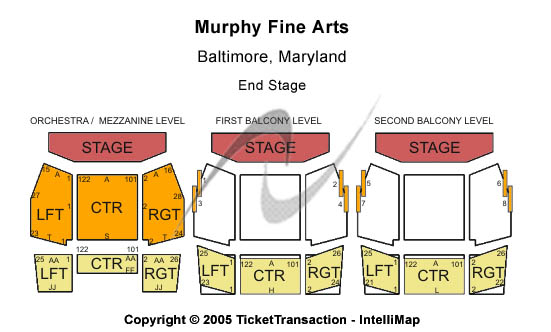 Annual Spring Concert Murphy Fine Arts Center Seating Chart