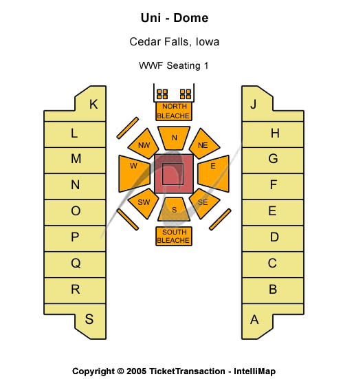 Uni-dome Seating Chart