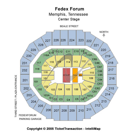 Fedex Forum Tickets