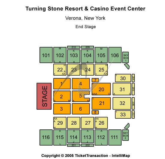Turning stone casino hours