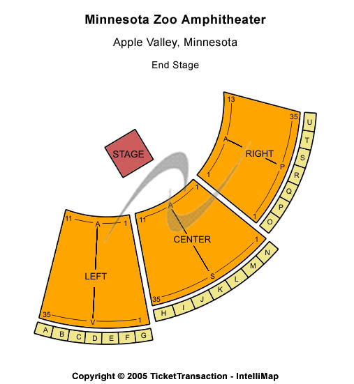 Minnesota Zoo Amphitheatre Tickets
