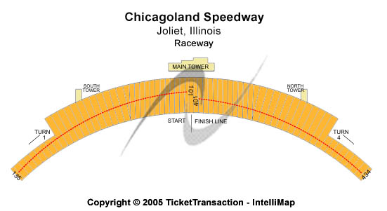 Chicagoland Speedway Seating Chart