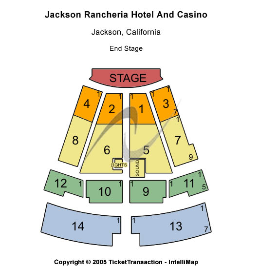 Uncle Kracker Tickets 2013-11-16  Jackson, CA, Jackson Rancheria Hotel & Casino
