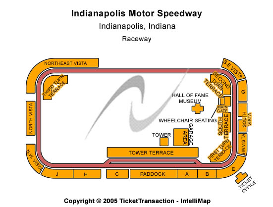 Indianapolis 500 Tickets 2014-05-25  Indianapolis, IN, Indianapolis Motor Speedway