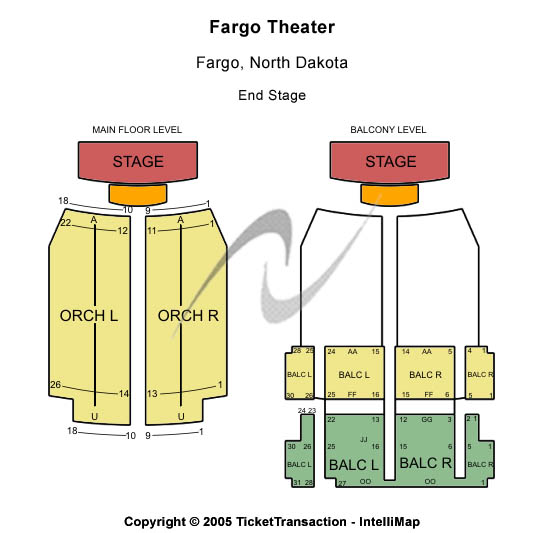 Fargo Theatre Tickets And Nearby Hotels 314 Broadway N