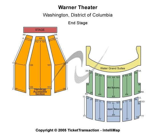 Warner Theatre - DC