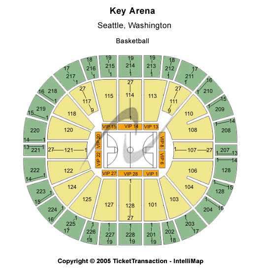 Key Arena Tickets