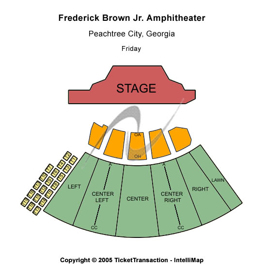 Los Lobos Tickets 2013-05-18  Peachtree City, GA, Frederick Brown Jr Amphitheatre