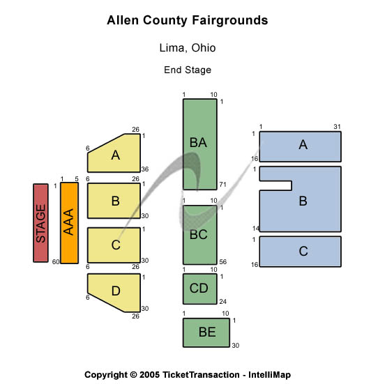 Allen County Fairgrounds - OH Tickets