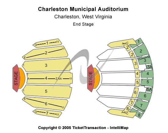 Charleston municipal auditorium tickets venues