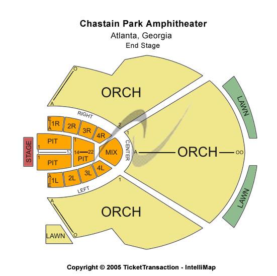 Chastain Park Atlanta. Chastain Park Amphitheatre