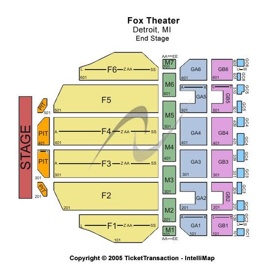 Fox Theater Mi: Fox Theatre
