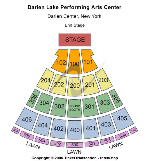 Darien Lake Performing Arts Center Tickets