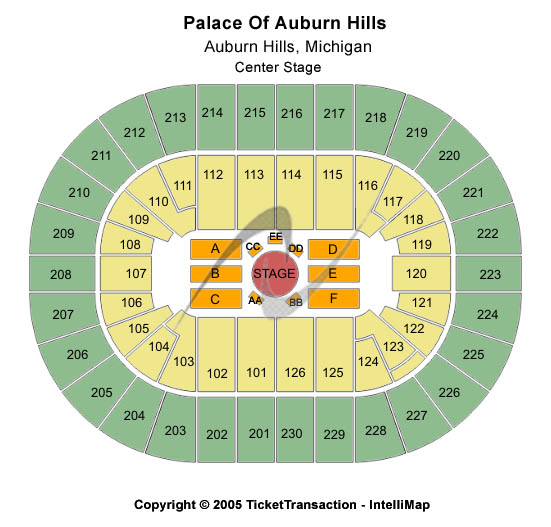 Palace Of Auburn Hills Tickets