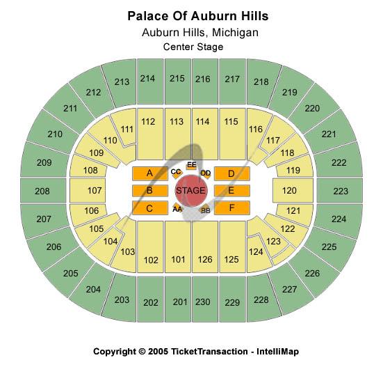Palace Of Auburn Hills Tickets