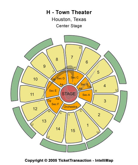 Cedric The Entertainer Tickets 2013-03-16 Houston, TX, Houston Arena Theatre