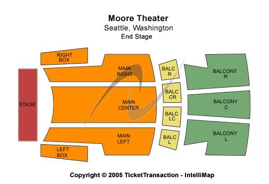 Moore theatre tickets venues
