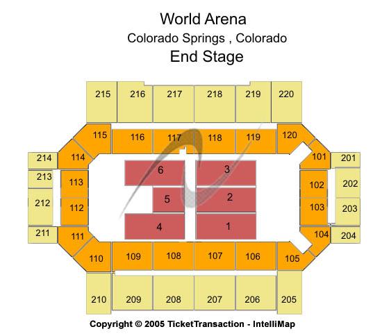 colorado tourism info World Arena – Map World Arena Colorado Springs