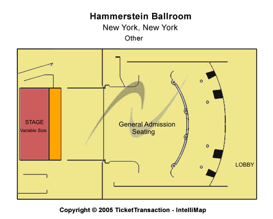 Hammerstein Ballroom Tickets New York, NY - Slightly Stoopid Tickets