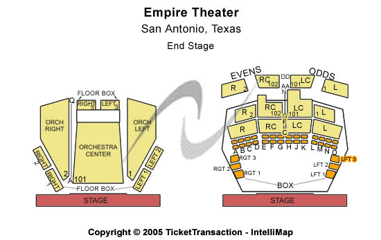 Charlie McCombs Empire Theatre Tickets