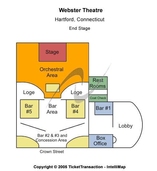 Webster Theatre Tickets