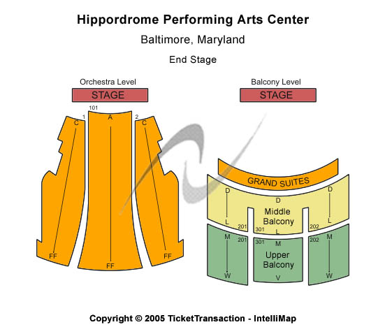 Hippodrome Theatre At The France-Merrick PAC