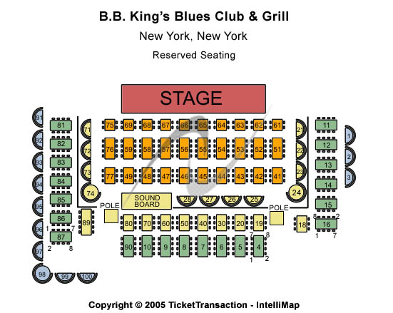 Strawberry Fields - A Tribute To The Beatles Tickets 2012-12-26 New York, NY, B.B. King Blues Club & Grill - New York