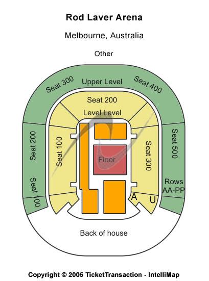 Rod Laver Arena Floor Plan