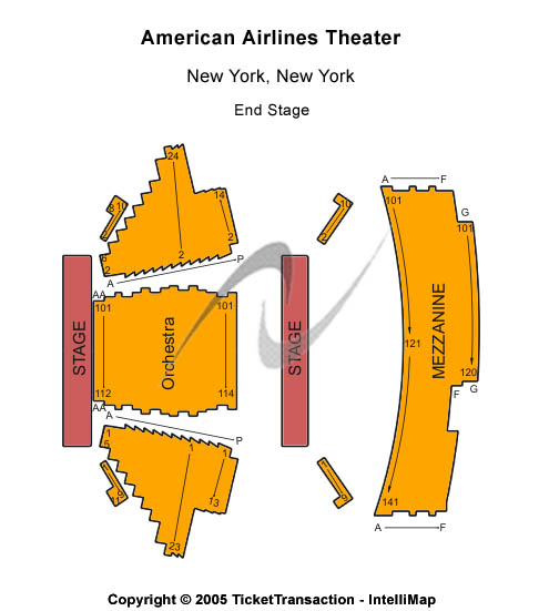The Importance Of Being Earnest Tickets 2011-02-25  New York, NY, American Airlines Theatre