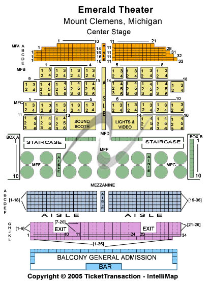 Wyclef Jean Emerald Theatre Seating Chart