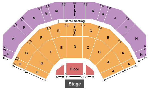 3Arena Floor Plan
