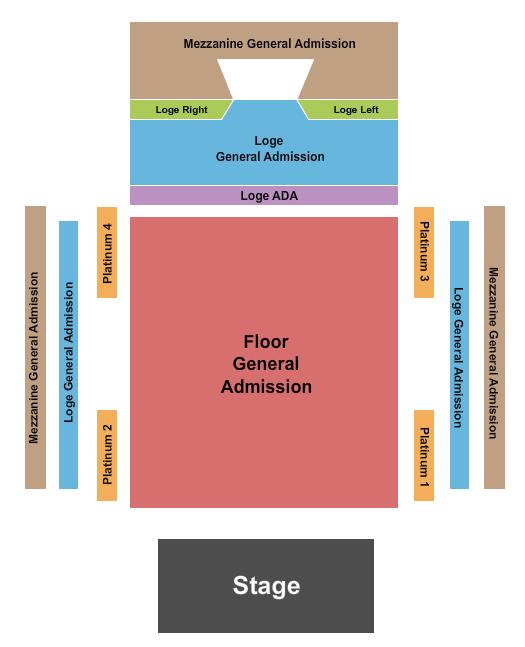 713 Music Hall Floor Plan