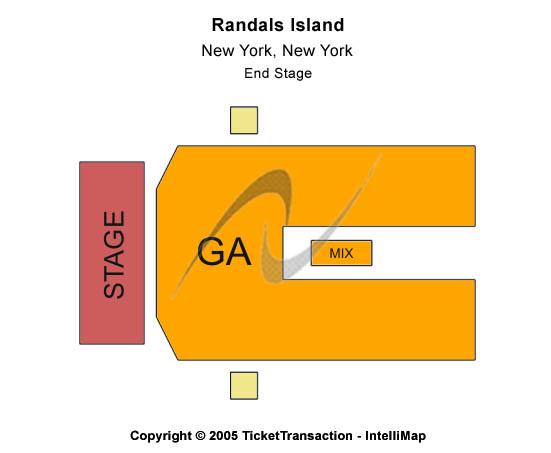 Randalls Island Seating Chart
