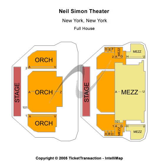 Rain - The Beatles Experience Tickets 2011-01-12  New York, NY, Neil Simon Theatre