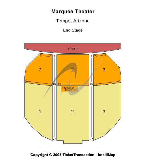 Hotels Near Marquee Theater Tempe