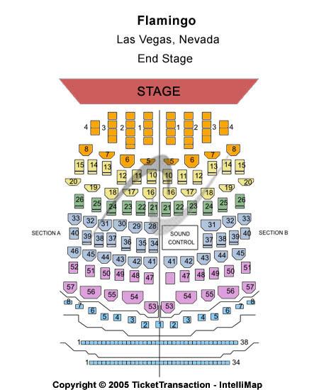 Flamingo Las Vegas Seating Chart