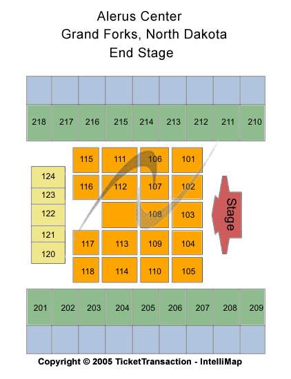 Alerus Center Floor Plan