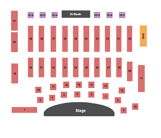 ATL Comedy Theater Seating Chart