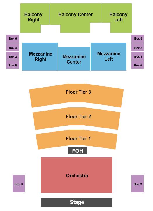 Agora Theatre Floor Plan