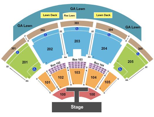 Ak-Chin Pavilion Rascal Flatts seating chart - eventticketscenter.com