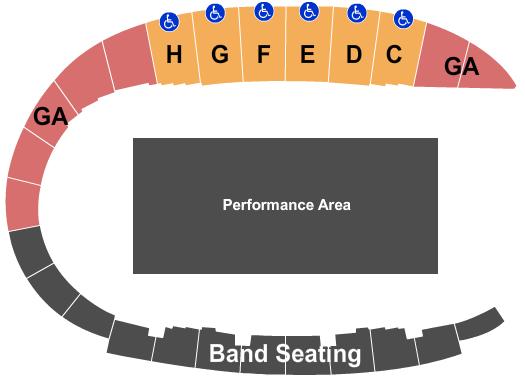 Alamo Stadium Seating Chart