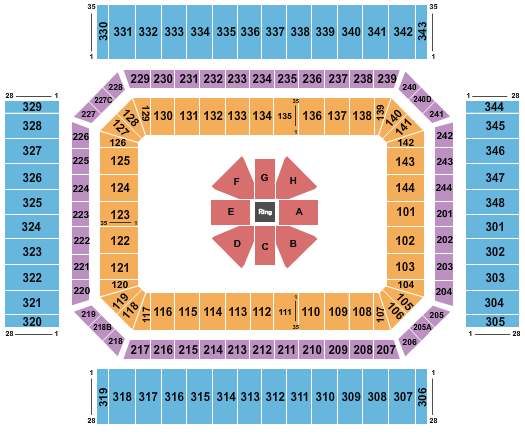 Alamodome seating chart event tickets center
